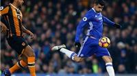 Diego Costa giải thích cho màn ăn mừng lạ mắt trước Hull City