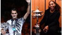 Vô địch Australian Open 2017, Federer trở lại top 10, Serena lên số 1 thế giới