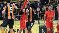 Hull City 2-0 Liverpool: 5 trận liên tiếp không thắng, Liverpool đang 'lạc trôi'