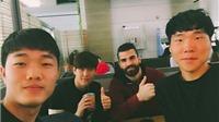 Xuân Trường cùng đồng đội tại Gangwon FC cắt tóc lấy hên
