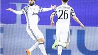 Cagliari 0-2 Juventus: Higuain rực sáng, Allegri đạt mốc 100 trận thắng