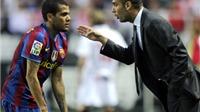 Không phải Messi, Alves mới là người Guardiola  thực sự muốn