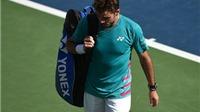 Tennis ngày 1/3: Kyrgios căng thẳng với đồng nghiệp. Wawrinka thua sốc tại Dubai