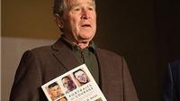 Cựu Tổng thống Mỹ George Bush triển lãm tranh sơn dầu