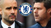 Pep Guardiola và Pochettino cùng gửi lời 'tuyên chiến' tới Chelsea