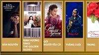 Hạng mục Album của năm, Giải Âm nhạc Cống hiến lần 12-2017: Đãi cát tìm vàng