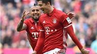 Cán mốc 100 bàn, Lewandowski giúp Bayern bỏ xa phần còn lại tới 10 điểm