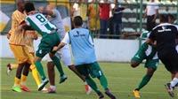KINH HOÀNG hơn cả V-League: CĐV và cầu thủ tẩn nhau ngay trên sân bóng