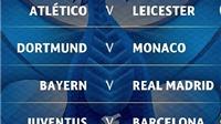 Họ đã nói gì về kết quả bốc thăm Tứ kết Champions League?