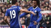 ĐIỂM NHẤN Stoke 1-2 Chelsea: Cúp đã nằm trong túi. Suýt trả giá vì Costa