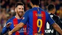 Barca 4-2 Valencia: Messi lập cú đúp, Barca tiếp tục bám sát Real Madrid