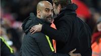 HỌ ĐÃ NÓI, Pep: 'Ngày đẹp bậc nhất trong sự nghiệp của tôi', Klopp: 'Liverpool lẽ ra phải thắng'
