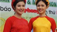 Giải Việt dã toàn quốc 2017: Hoa hậu Ngọc Hân, Á hậu Thanh Tú đều góp mặt