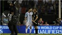 Messi: 'Tôi đâu có chửi thẳng mặt trọng tài. Tôi chỉ hét vào không khí'