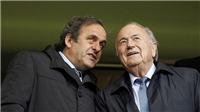 Michel Platini tố Sepp Blatter là 'kẻ ích kỉ nhất'