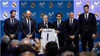 Ronaldo bỏ chạy trong lễ ký hợp đồng 'khủng' của Real Madrid