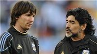 Maradona phủ nhận 'đâm lén', xin FIFA giảm án cho Messi