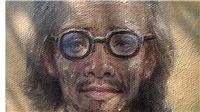 Họa sĩ Quang Thám vẽ chân dung, làm thơ về Trịnh Công Sơn