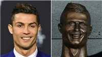 Tác giả nói gì sau khi biến bức tượng của Ronaldo thành 'THẢM HỌA'?