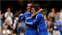 David Luiz khiến Terry suýt ôm hận vì dám khoe 'của quý'