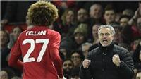 Mourinho tin tưởng và trọng dụng Fellaini còn hơn cả David Moyes