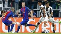 CẬP NHẬT sáng 12/4: Barca thua đậm Juve, trận Dortmund -Monaco bị hoãn. Neymar bị treo giò 3 trận, lỡ 'Kinh điển'