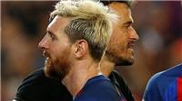 Messi bị cho là nổi loạn, chống đối Enrique sau trận thua sốc Juventus