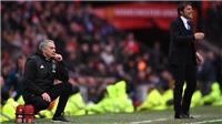 Mourinho đã nói gì với các học trò sau hiệp 1 trận gặp Chelsea?