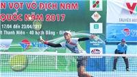 Giải quần vợt vô địch nam toàn quốc 2017: Ứng viên vô địch thể hiện sức mạnh