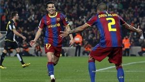 Đội hình tiêu biểu vòng 17 Liga: Khi Pedro thay vai trò của Messi