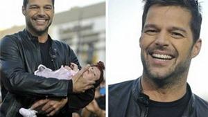 Tình cha con khiến Ricky Martin hiểu thế nào là tình yêu vô điều kiện