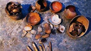 Phát hiện hang động chứa nhiều di vật cổ gần Thành Nhà Hồ