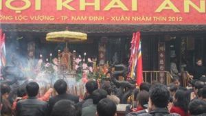 Phát ấn đền Trần (Nam Định): Chắc chắn không đóng thêm ấn