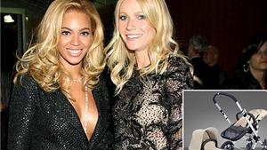 Gwyneth Paltrow mua xe đẩy nghìn đô tặng con gái Beyonce