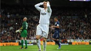Chấm điểm Real Madrid 1-1 Malaga: Nhạt nhòa Ronaldo !