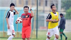 """HLV U22 VN Lư Đình Tuấn: """"Myanmar và Malaysia tiến bộ nhanh"""""""