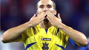 Shevchenko giã từ sân cỏ: Cho những điều vĩ đại hơn bóng đá