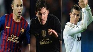 """Ronaldo hay Messi sẽ là """"Cầu thủ xuất sắc nhất châu Âu""""?"""