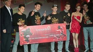 S.I.N.E vô địch Centaur Dance Showdown châu Á