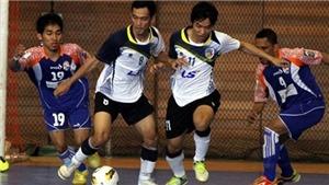 Giải futsal toàn quốc 2013: Sanna Khánh Hòa, Thái Sơn Nam chiếm ưu thế
