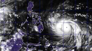 Siêu bão Haiyan đổ bộ vào miền Trung Philippines