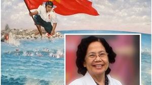 GS Nguyễn Thị Ngọc Phượng trả 100 triệu đồng đấu giá tranh về Gạc Ma