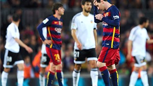 Barcelona gục ngã trước Valencia: Walking Dead ở Camp Nou