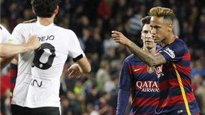 Neymar chửi hậu vệ Valencia: 'Câm mồm lại, tao kiếm tiền nhiều gấp 10 lần mày'