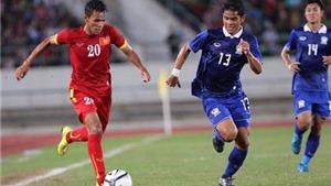 U21 Việt Nam thua trắng U21 Thái Lan