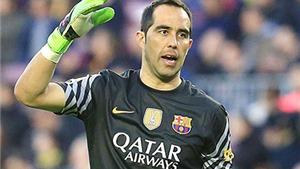 Claudio Bravo chia tay Barcelona: Tạm biệt chàng vệ sĩ của khung gỗ