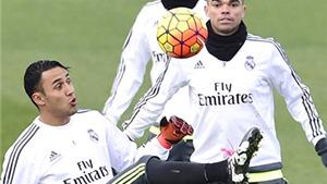 Chờ Pepe và Navas giải cứu hàng thủ Real Madrid