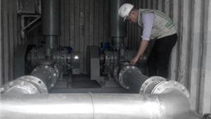 Lắp hệ thống cung cấp oxy khổng lồ ở Hồ Tây