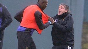Roberto Mancini bất ngờ tiết lộ sự thật về vụ ẩu đả với Mario Balotelli