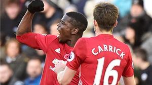 Hàng tiền vệ Man United: 'Diễn viên' Pogba trên 'sân khấu' Carrick